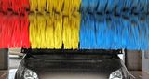 Autowäsche Lizenzfreie Stockbilder