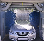 Autowäsche im Prozess