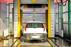 Autowäschemaschine Lizenzfreies Stockbild