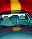 Autowasserette Stock Foto