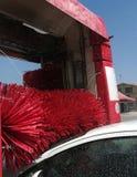 Autowasseretteborstel stock afbeeldingen