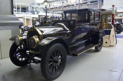 Autoworld博物馆,布鲁塞尔,比利时, 2016年7月10日 免版税库存图片