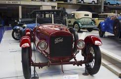 Autoworld博物馆, Brusells,比利时, 2016年7月10日 免版税库存图片