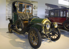 Autoworld muzeum, Bruksela, Belgia, 10 2016 Lipiec obrazy stock