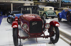 Autoworldmuseum, Brusells, België, 10 juli 2016 Royalty-vrije Stock Afbeelding