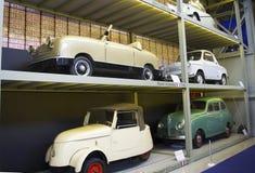 Autoworldmuseum, Brusells, België, 10 juli 2016 Royalty-vrije Stock Foto's
