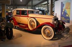 Autoworldmuseum, Brusells, België, 10 juli 2016 Royalty-vrije Stock Afbeeldingen