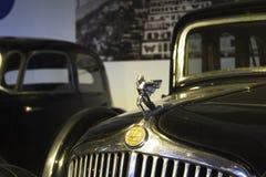 Autoworldmuseum, Brusells, België, 10 juli 2016 Stock Foto's