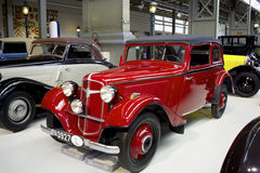 Autoworldmuseum, Brusells, België, 10 juli 2016 Royalty-vrije Stock Foto