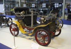 Autoworldmuseum, Brussel, België, 10 juli 2016 Stock Foto