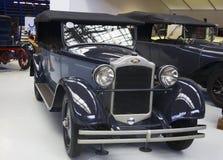 Autoworldmuseum, Brussel, België, 10 juli 2016 Stock Fotografie