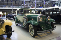 Autoworldmuseum, Brussel, België, 10 juli 2016 Stock Foto's