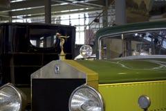 Autoworldmuseum, Brussel, België, 10 juli 2016 Royalty-vrije Stock Afbeeldingen