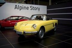 Autoworldmuseum, Brussel, België, 10 juli 2016 Royalty-vrije Stock Fotografie