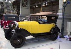 Autoworldmuseum, Brussel, België, 10 juli 2016 Royalty-vrije Stock Foto's
