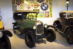 Autoworldmuseum, Brussel, België, 10 juli 2016 Stock Afbeelding