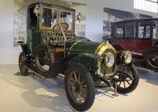 Autoworldmuseum, Brussel, België, 10 juli 2016 stock afbeeldingen