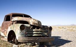 Autowrack Stockbild