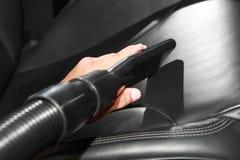 Autowäscheausführliche schilderung Stockfoto