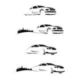 Autozeichen Lizenzfreies Stockfoto