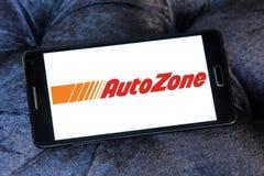 Autozone części detalisty automobilowy logo Obrazy Royalty Free