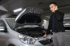 Autozusammenbruch Lizenzfreie Stockbilder