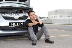 Autozusammenbruch Lizenzfreies Stockbild