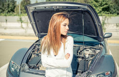 Autozusammenbruch Lizenzfreie Stockfotografie