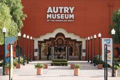 Autry Museum van de Amerikaanse het Westeningang in Los Angeles Stock Foto