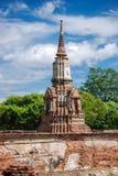 Autthaya Ruins stock image