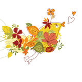 Autum illustration Royalty Free Stock Images