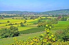 Autum Landscape near Freiburg,Germany Royalty Free Stock Photography