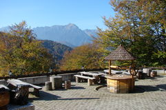 Autum in the mountains. Autum in the Bucegi mountains Royalty Free Stock Images