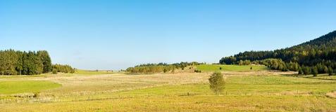 Autum panorama Stock Photo