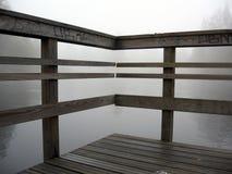 Autum par le fleuve Images stock