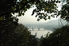Autum in Prague. In Czech republic Royalty Free Stock Photography