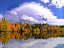 Autum Reflections Royalty Free Stock Photo
