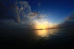 Autum sunrise Stock Photography