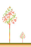 Autum tree Stock Photo