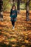 Autum walk Royalty Free Stock Photos