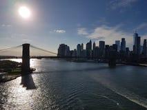 Autumm i södra Manhattan, NY Royaltyfri Bild