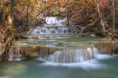 Autumm waterfall Royalty Free Stock Photo
