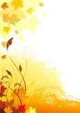 Autumn. Illustration of abstract autumn background Royalty Free Stock Photos