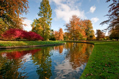 Autumn. In a park in denmark Royalty Free Stock Photo