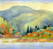 Autumn湖 免版税库存照片