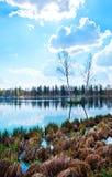 Autumn湖 库存照片