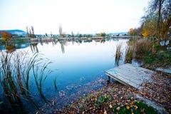 Autumn湖 免版税库存图片
