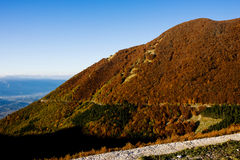 Autumn in Abruzzo in Italy Royalty Free Stock Photos