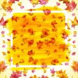 Autumn abstract background, eps 10. Art vector Stock Illustration