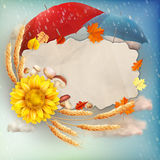 Autumn abstract background. EPS 10. Vector file included Vector Illustration